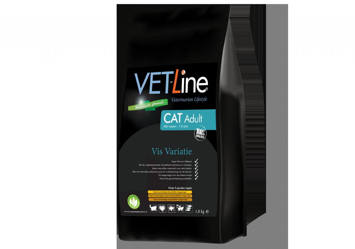 Vetline Cat Adult Vis 4 KG