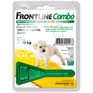 Frontline Combo Spot-On Hond Puppy Pack 1 pipet
