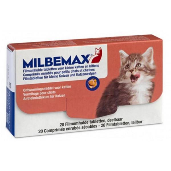 Ontworming Milbemax kleine kat