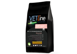 Vet-Line Cat Adult Struviet - Blaas&Urinewegondersteuning  4 KG