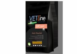 Vet-Line Cat Adult Anti Haarbal  4 KG