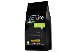 Vet-Line Cat Adult Light  4 KG