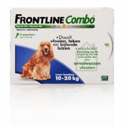 Frontline Combo Spot-On Hond M 10-20 kg 3 pipetten