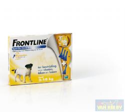 Frontline Spot-On Hond S 2-10 kg 4 pipetten
