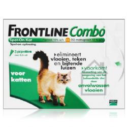 Frontline Combo Kat 3 pipetten